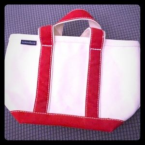 Lands end small canvas tote